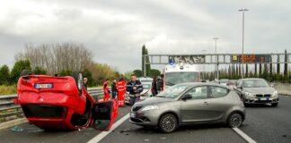 Uheld i bil